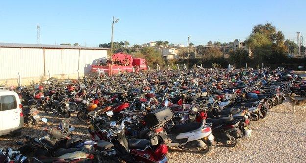 3 ayda 445 motosiklet trafikten men edildi