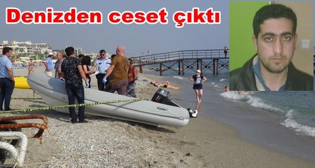 Alanya'daki kayıp gencin cesedi denizde bulundu