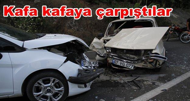 Alanya'da kaza: 12 yaralı var
