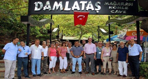 Alman tur operatörleri Alanya'da