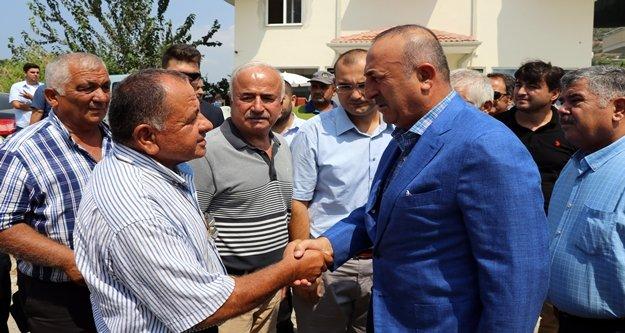 Bakan Çavuşoğlu'nu üzen ölüm