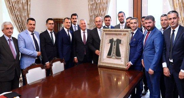 Çavuşoğlu'ndan 'MÜSİAD Alanya'ya onay