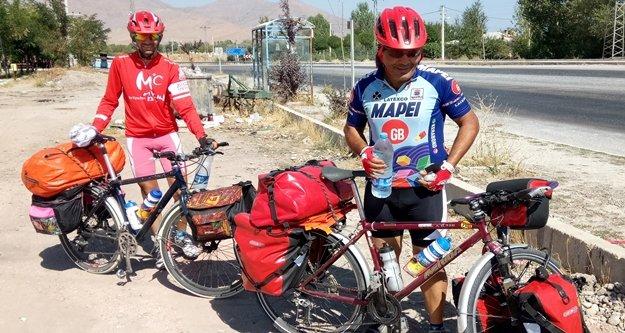İranlı bisikletçiler Alanya'ya gelecek