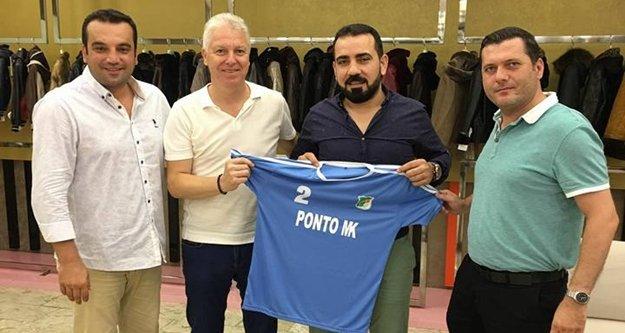 Konaklıspor'a forma sponsoru oldu