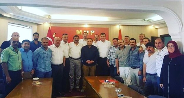 MHP'li ilçe başkanları toplandı