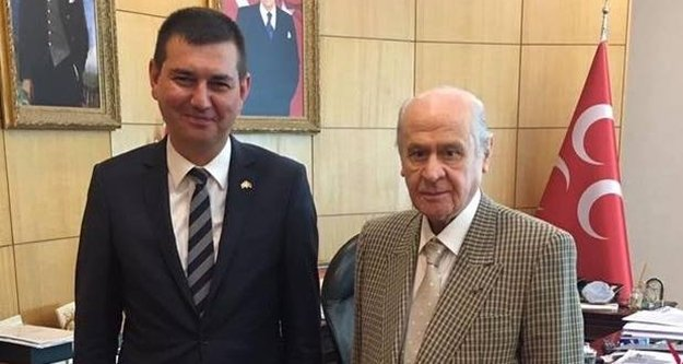 Türkdoğan'dan Devlet Bahçeli'ye ziyaret
