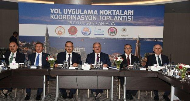 6 ilin Yol Uygulama Noktaları koordinasyon toplantısı gerçekleştirildi