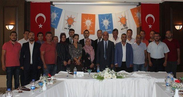 AK Parti ilçe yeni yönetim kurulu açıklandı