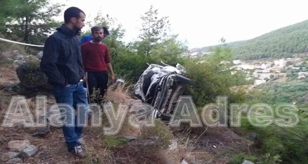 Alanya'da feci kaza: 2 ölü, 2 ağır yaralı var