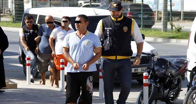 Alanya'daki dolandırıcılar tutuklandı