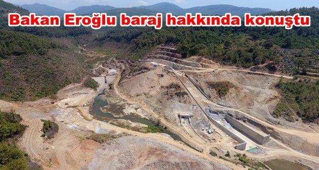Alanya Yeniköy Barajı'nın yarısı tamamlandı