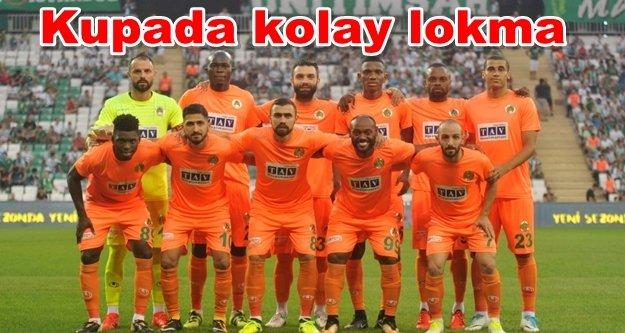 Alanyaspor'un Türkiye Kupası'ndaki rakibi belli oldu