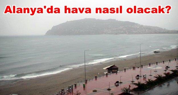 Antalya'nın 3 ilçesine yağmur uyarısı