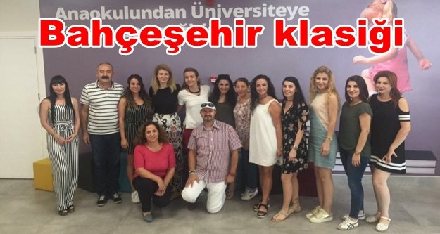 Bahçeşehir'de önce öğretmenler eğitildi