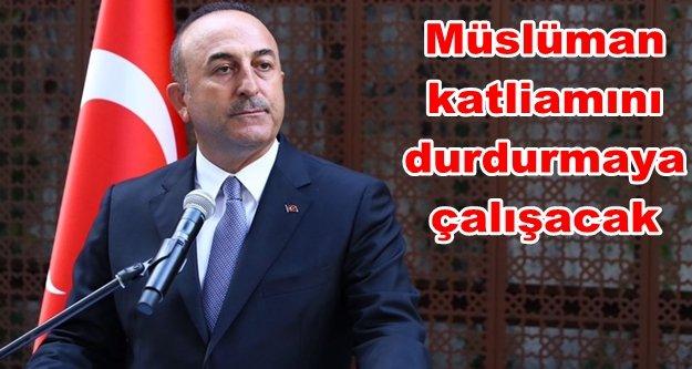 Bakan Çavuşoğlu Arakan için yola çıkıyor