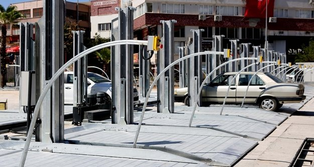 Büyükşehir'den otopark sorununa mekanik çözüm