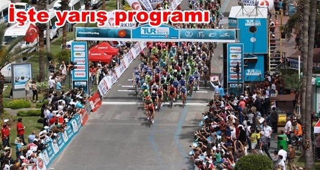Cumhurbaşkanlığı Bisiklet Turu Alanya'dan başlayacak