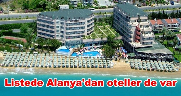 İşte Almanların en sevdiği Türk otelleri