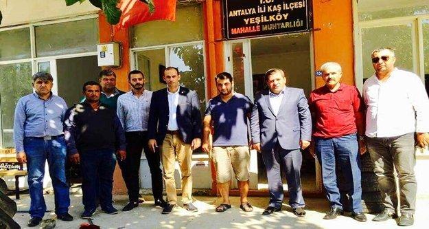 MHP Antalya İl Yönetimi ilçelere çıkarma yaptı