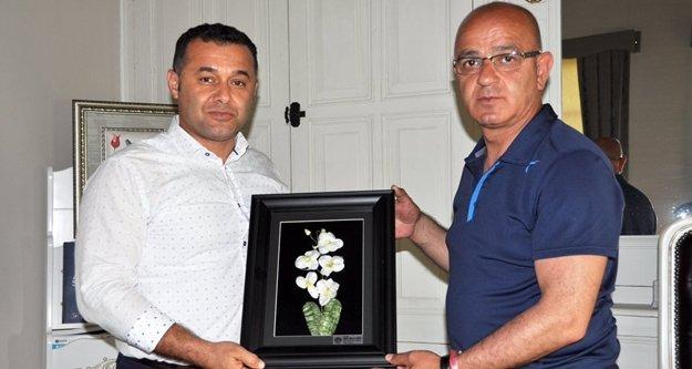 MHP İl Başkanından Yücel'e ziyaret