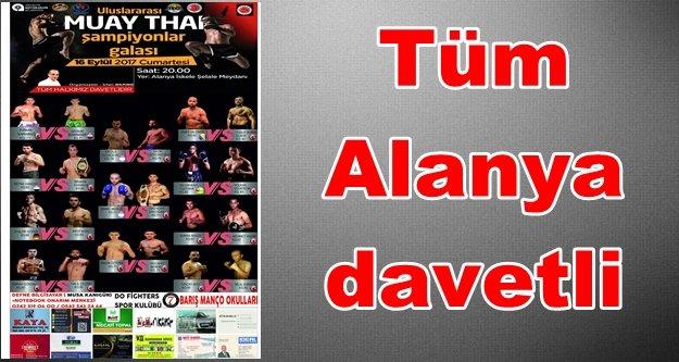Muay Thai'nin kalbi Alanya'da atacak
