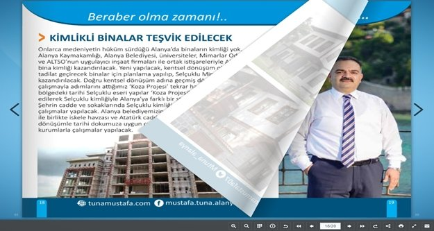 Tuna'nın projeleri e-kitaçıkta