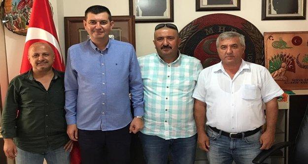 Türkdoğan muhtarlarla gündemi değerlendirdi