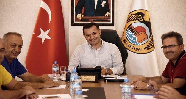 Yücel'den Bakan Çavuşoğlu'na triathlon teşekkürü