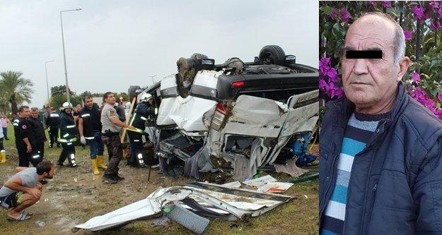 3 kişinin öldüğü kazayı yapan sürücü tutuklandı