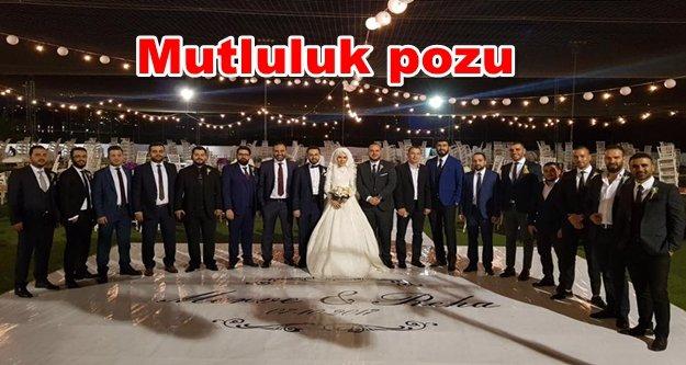 AK Gençler bu düğünde buluştu
