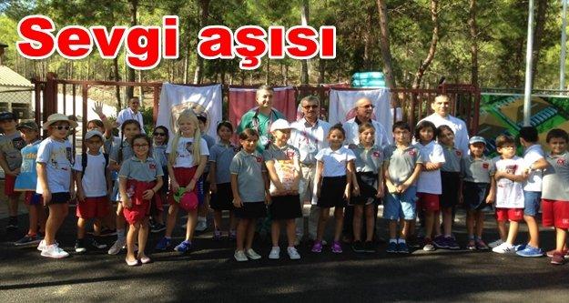 Alanya Bahçeşehir'den anlamlı ziyaret