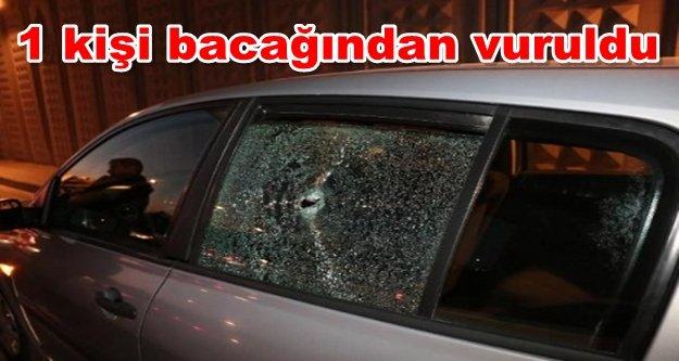 Alanya'da şok! Otomobile kurşun yağdırdılar