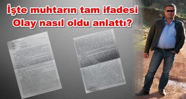 Alanya'daki cinayet zanlısı muhtar tutuklandı