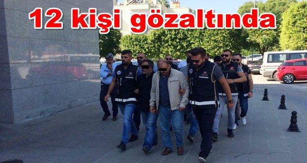 Alanya ve Manavgat'ta uyuşturucu operasyonu