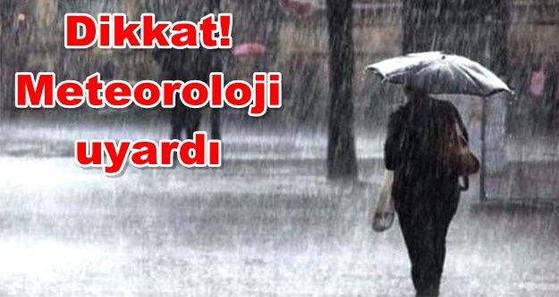 Alanya! Yağışlar geliyor