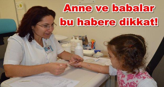 ALKÜ'de çocuklar için alerji testi