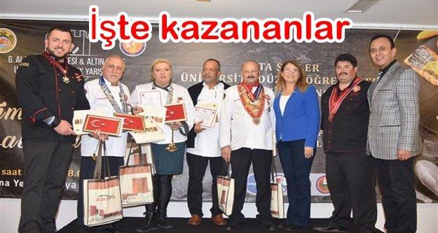 Altın Kepçe ödülleri dağıtıldı