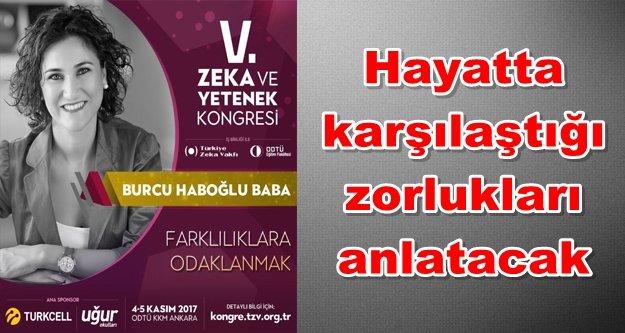 Ankara'daki dev konferansta bir Alanyalı