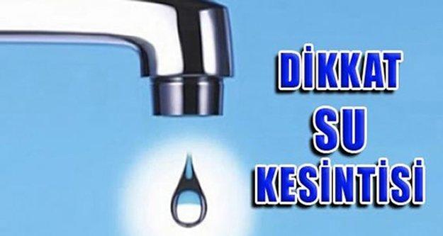 ASAT'tan Alanya'ya su kesintisi uyarısı
