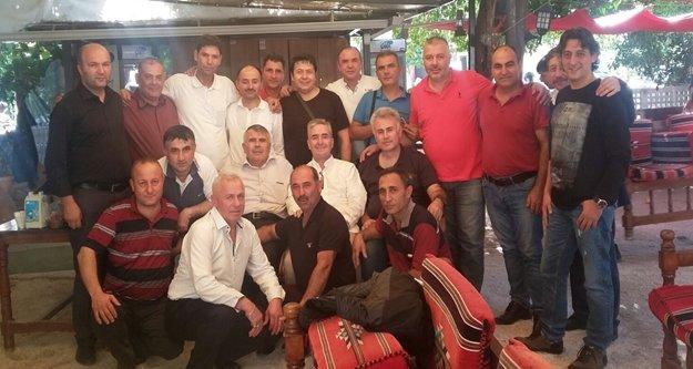 Asker arkadaşları 22 yıl sonra Alanya'da buluştu
