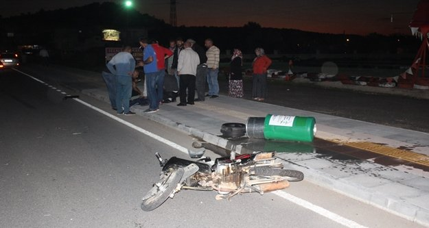Asker konvoyunda kaza: 1 yaralı var
