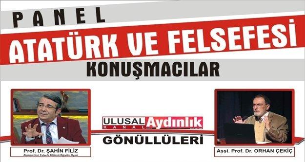 Atatürk ve felsefesini anlatmak için geliyorlar