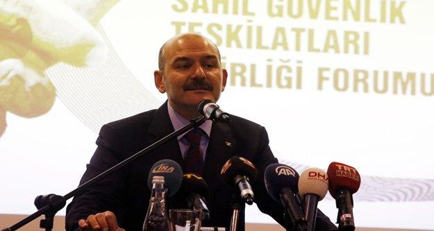 Bakan Soylu Antalya'dan önemli açıklamalarda bulundu