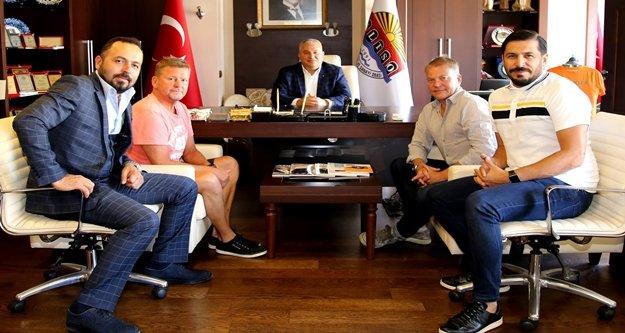 Başkan Şahin, golf sahaları için düğmeye bastı