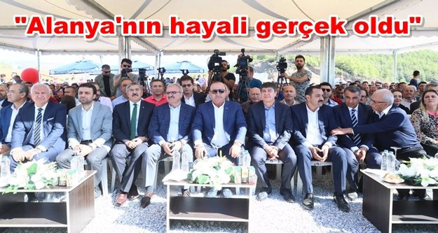 Çavuşoğlu#39;ndan Yücel#39;e teleferik teşekkürü