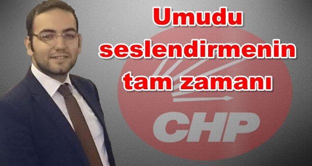 CHP İlçe Başkan adaylığını açıklıyor