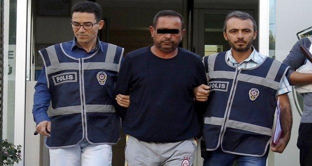Cinnet geçirip karısı ve kızını öldüren baba tutuklandı