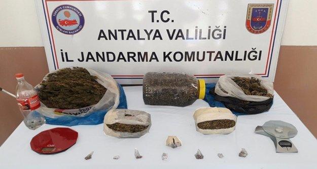 Gazipaşa'da uyuşturucu baskını