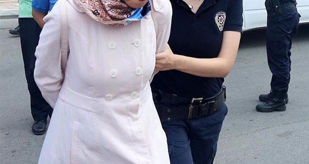 Her yerde aranan FETÖ şüphelisi kadın Alanya'da yakalandı