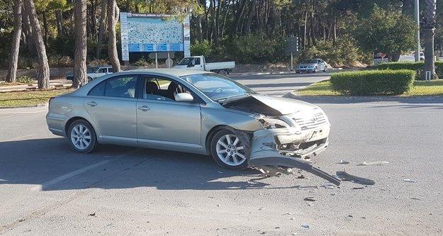 Komşuda kaza: 1 kişi yaralandı